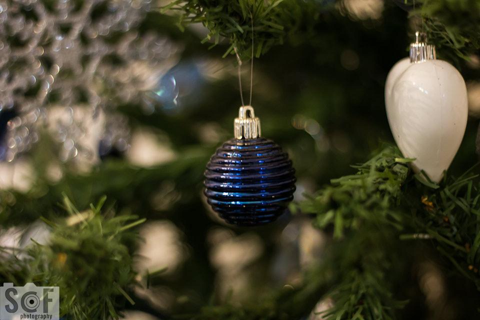 Blue Christmas Ball - Normal