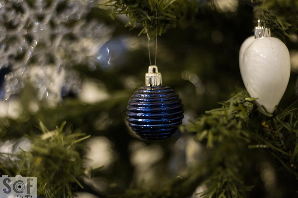 Blue Christmas Ball - Protanomaly