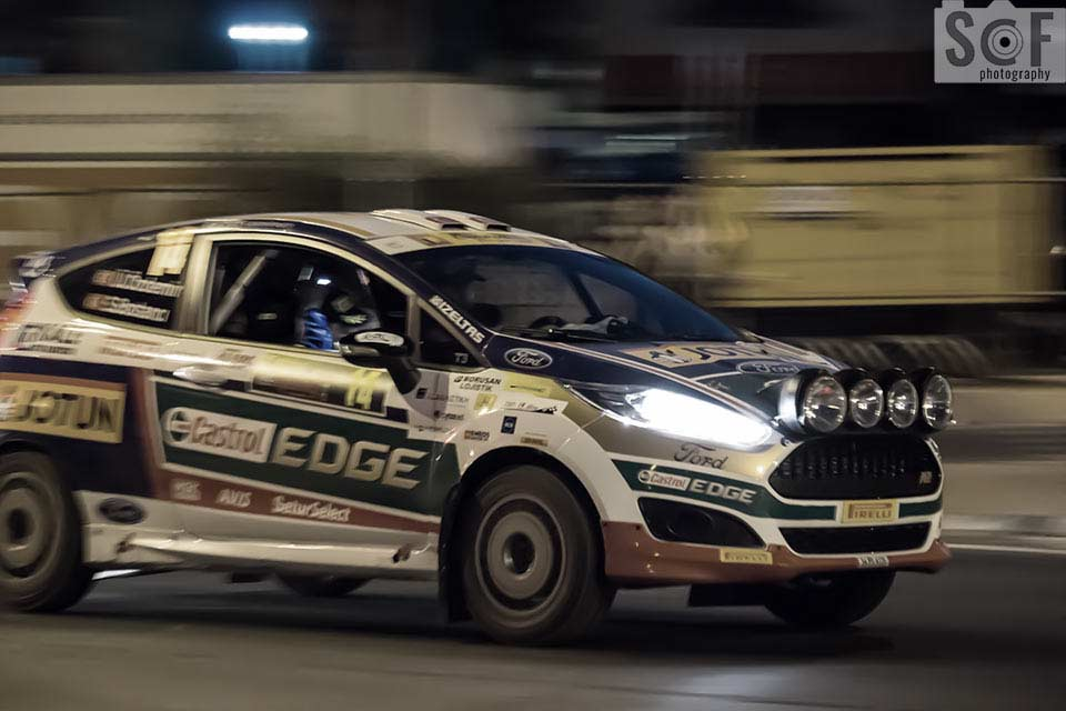 Cyprus Rally 2016 Castrol Edge - Blue Cone Monochromacy