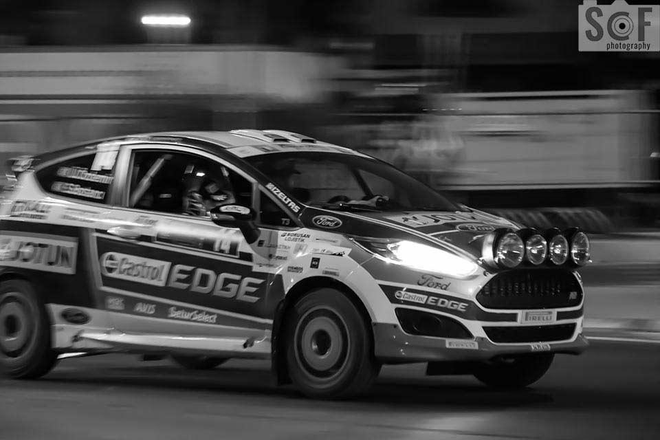 Cyprus Rally 2016 Castrol Edge - Monochromacy Achromatopsia