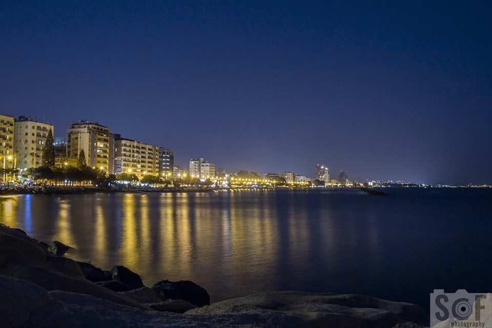 Limassol Coast View At Night - Protanomaly