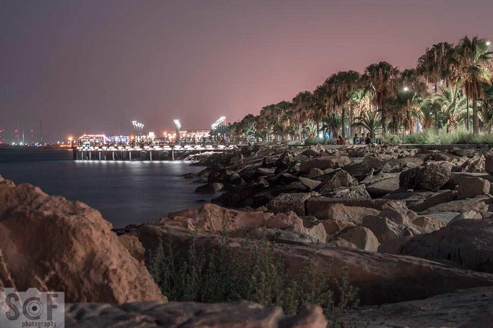 Molos Park Night View - Tritanomaly