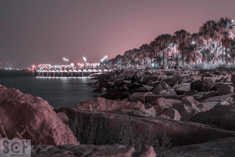 Molos Park Night View - Tritanopia