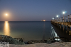 Moon Rise From Limassol