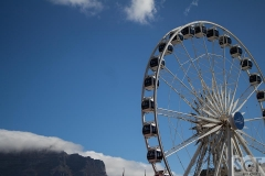 Cape Wheel and Table Mountain