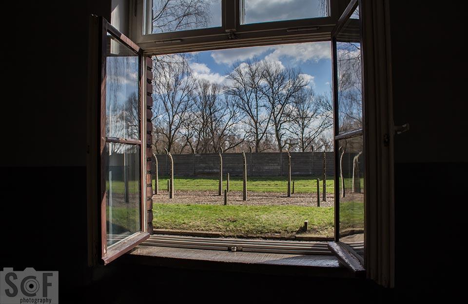 Outside of a window